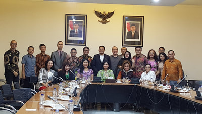 2017. Meeting With Jakarta Deputy Governor Bp. Sandiaga Uno